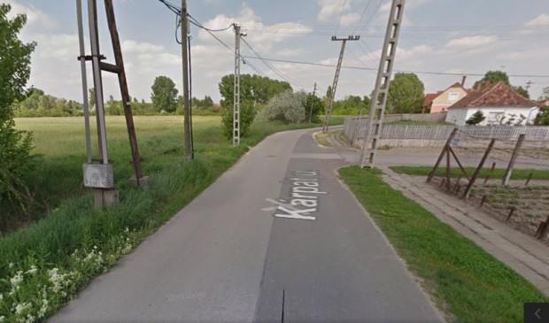 A Kárpát utca és környéke