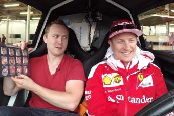 Élete interjúját adta Räikkönen, ilyet még nem láttál