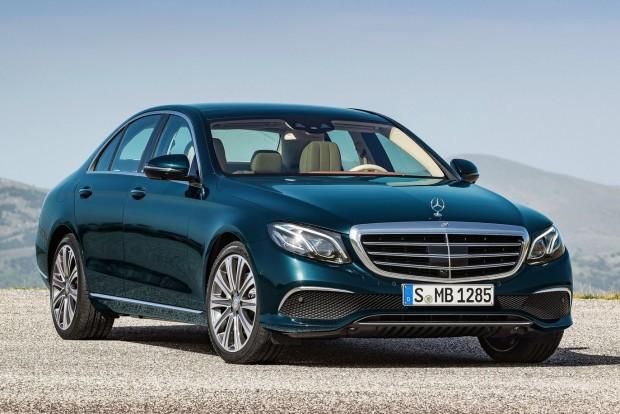 Nagyautók: Mercedes E-osztály (Jaguar XF, BMW 5-ös)