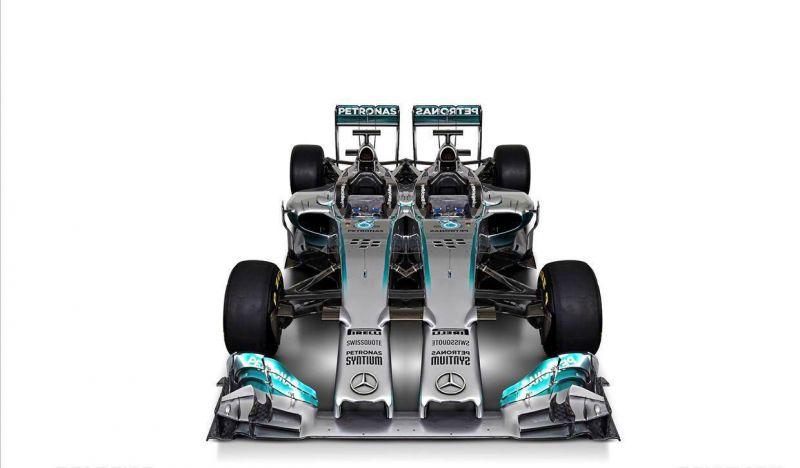 Mercedes twin