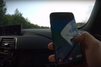 Pokémon-vadászat BMW-vel, a világ egyik leggyorsabb pontján