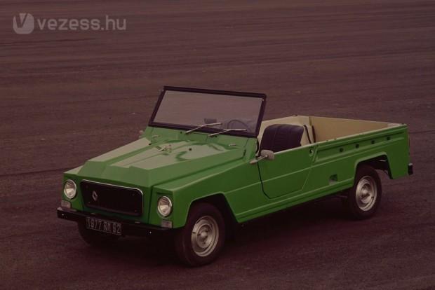 A Méhari és Renault-gyártmányú ellenfele is műanyag karosszériával készült