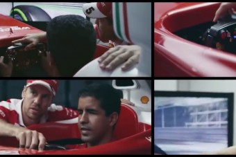 Vettel megható dolgot tett