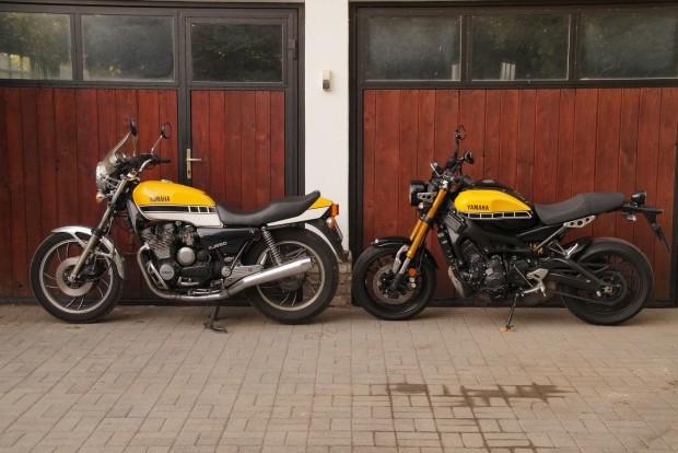 XJ650, naked-túra, a '80-as évek elejéről és az új XSR 900