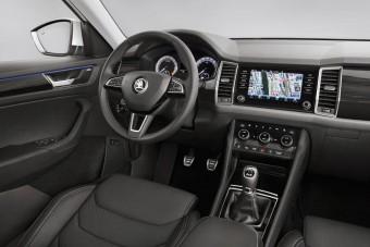 Fényűző és tágas a csúcs-Škoda belső tere!