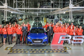 Új sportkocsi gyártása kezdődött el Győrben