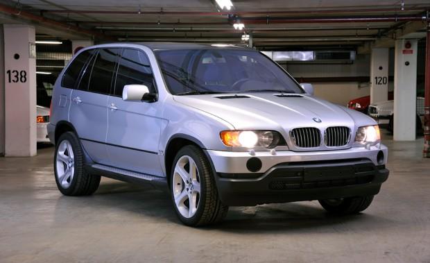 BMW X5 rear-wheel-drive project
