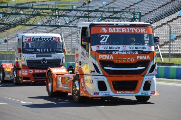 Az Iveco-val versenyző Gerhard Körber a mogyoródi versenyhétvége előtt még a hetedik helyen állt egyéni ranglistán. A mögötte haladó Kiss Norbi pedig a negyedik helyet foglalta el.