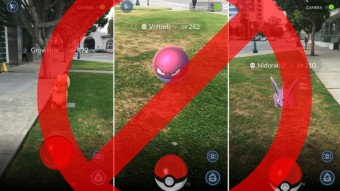 Itt már betiltották a Pokémon Go játékot