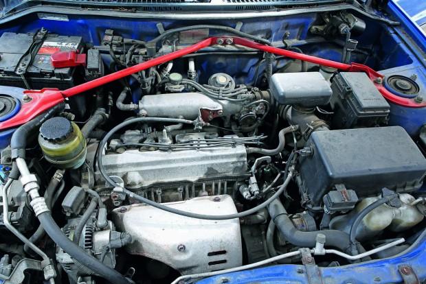 A Toyota 129 lóerős kétliteres motorja példásan megbízható