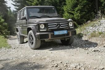 Mindent kibír: Mercedes Benz G 500