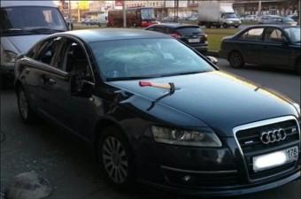Baltát állítottak az Audiba