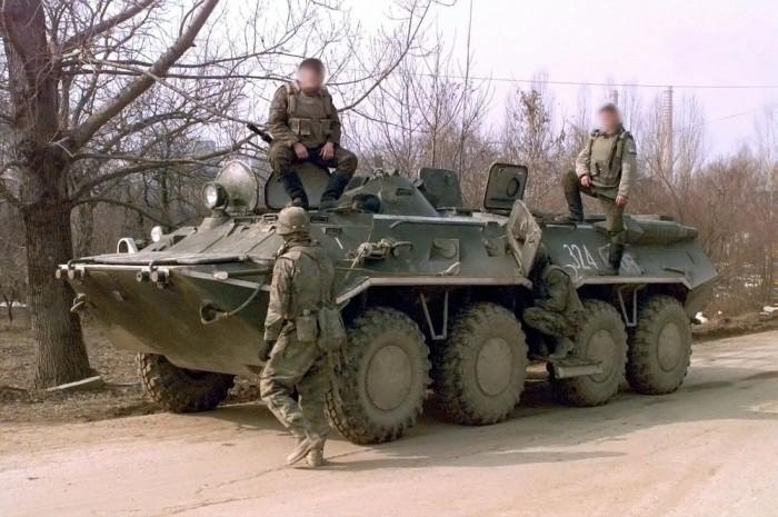 BTR-80 páncélozott szállító harcjármű