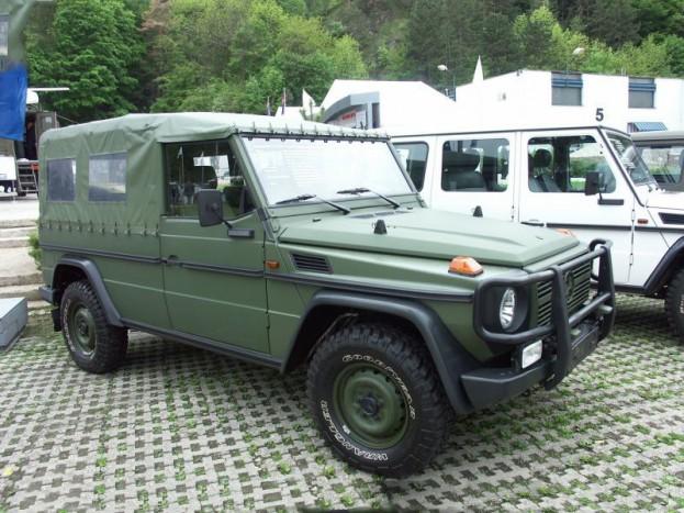 Mercedes-Benz G-270 CDI katonai terepjáró