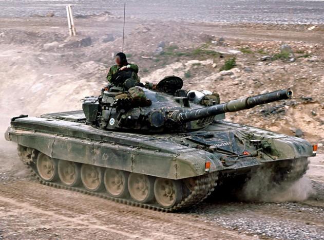 T-72M1 harckocsi