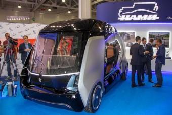Sofőr nélküli minibuszt gyárt a Kamaz