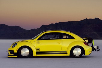 Ferrari-tempót tolt egy Volkswagen