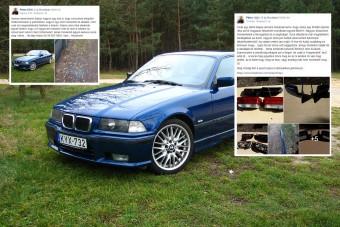 Facebookon árulták Peti ellopott BMW-jét, azonnal felismerte