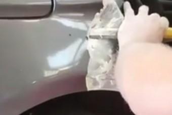 Na mit talált a szerelő a BMW festése alatt?