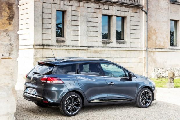 Renault Clio Grandtour: az ötajtós és a kombi tengelytávja megegyezik (2589 mm)