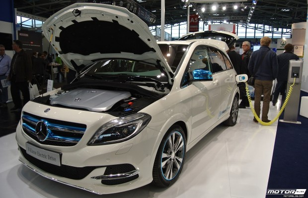 eCarTec Munich 2013: Mercedes-Benz B-class Electric Drive
