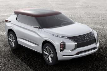 Luxus hibrid szabadidő-tanulmány a Mitsubishitől