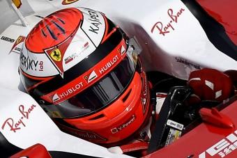 Nézd meg, milyen géppel edz Räikkönen !