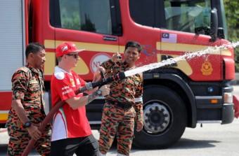 F1: Räikkönen tűzoltónak állt