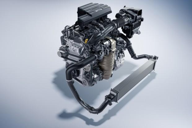 A Civicben debütál másfél literes, közvetlen befecskendezéses, soros négyhengeres turbómotor itt 190 lóerőt teljesít. Amerikában a régi 2,4-es i-VTEC blokkal is elérhető lesz az autó; mindkét motorhoz CVT váltó társul. Lesz első- és összkerék-hajtás is. Aktív lamellák biztosítják az egészséges hőháztartás és a kisebb légellenállás ideális egyensúlyát.