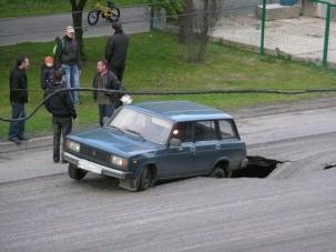 Útjavítás ruszki módra: sírás közeli állapot