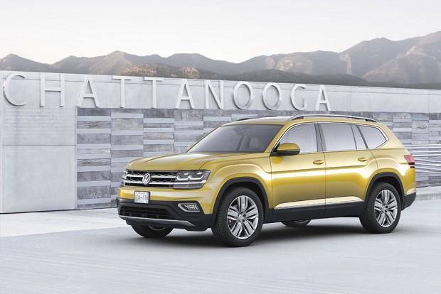 Az Atlas a világ legtisztább üzemű autógyárában, a VW Chattanooga-i (Tennessee állam, USA) üzemében készül, a Passattal közös gyártósoron.
