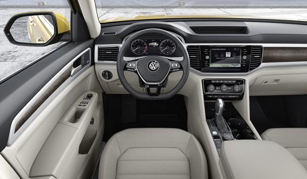 A Vw virtuális, full digitális műszerfala is megrendelhető a kocsihoz.