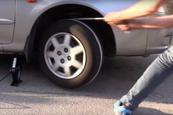 Így indítsd be az autót egy kötéllel