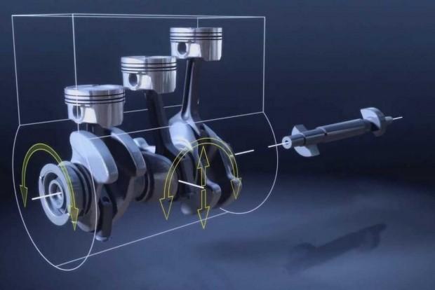 Míg a Renault temeti a dízelt, a BMW csodás kis háromhengeres motort épített, ami alighanem még sokáig szolgál a kis Minikben, BMW-kben