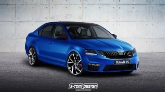 Új arcot kap a Škoda Octavia RS