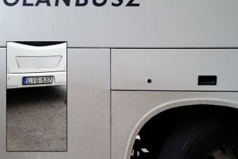 Életveszélyes busszal viszi a Volán az utasokat