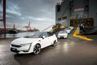 Európába jött a Honda üzemanyagcellás autója