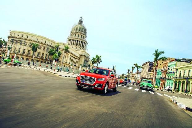 Az erősen töredezett kubai utaknál jobban sehol nem lehet egy autó futóművét és gördülési kényelmét próbára tenni