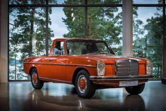 A Mercedes már a '70-es években is csinált platóst
