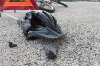 Meghalt egy bringás, csak magának köszönheti