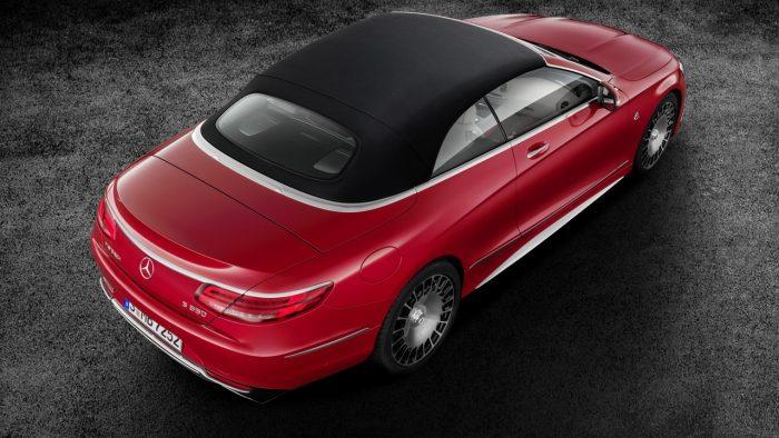 Itt a Mercedes-Maybach fejedelmi luxuskabriója! 2