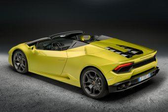 Lamborghini Huracán Spyder RWD: Hátul hajt, és még teteje sincsen