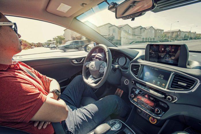 Hyundai IONIQ autonóm kísérleti jármű