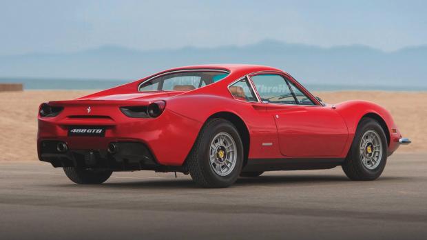 Ferrari 246 GT Dino-488 GTB