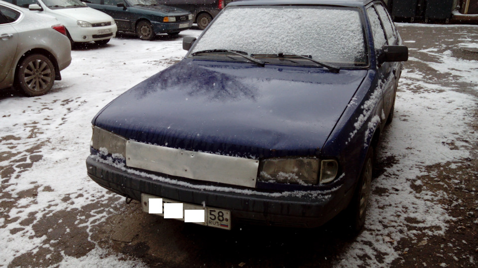 Hosszú a tél, nem melegszik a motor, de megoldották a problémát.