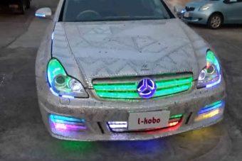 Ez a Mercedes annyira durva, hogy elsőre fel sem fogod