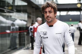 Fernando Alonso Le Mans-ba készül