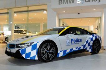 BMW i8-assal gazdagodott az ausztrál rendőrség flottája