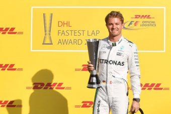 F1: Rosberg behúzott egy másik díjat is
