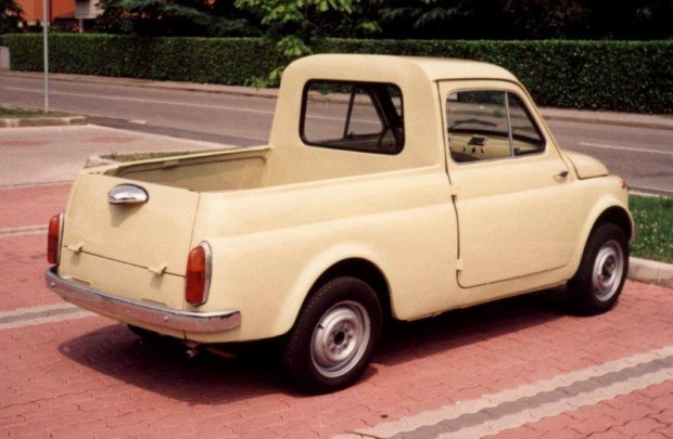 A Fiat 500-asban mindig láttak fantáziát a konstruktőrök.